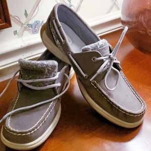 Sperry Top Siders Angel Fish Lace Up Loafers 9.5